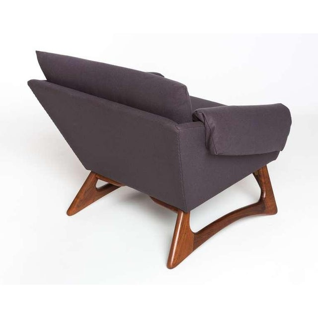Craft Associates 1960's Vintage Adrian Pearsall Lounge Chair For Sale - Image 4 of 6