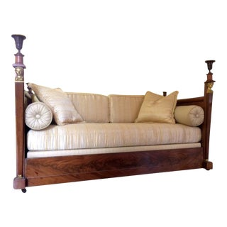 Retour d'Egypte Empire Mahogany Day Bed