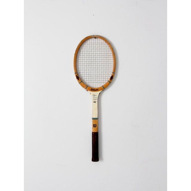 1970s Wilson Chris Evert Tennis Racquet For Sale - Image 4 of 12