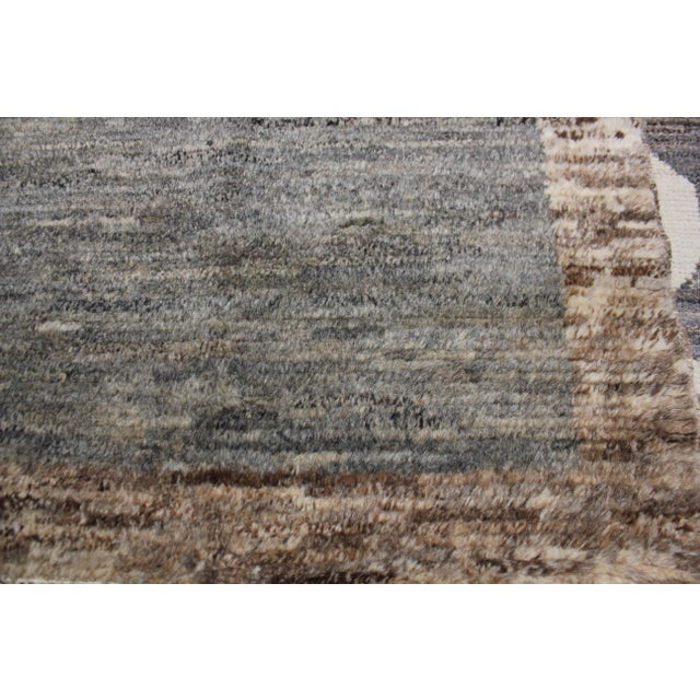 Cotton Aara Rugs Inc. Moroccan Inspired Hand-Knotted Rug - 5′10″ × 8′6″ For Sale - Image 7 of 13