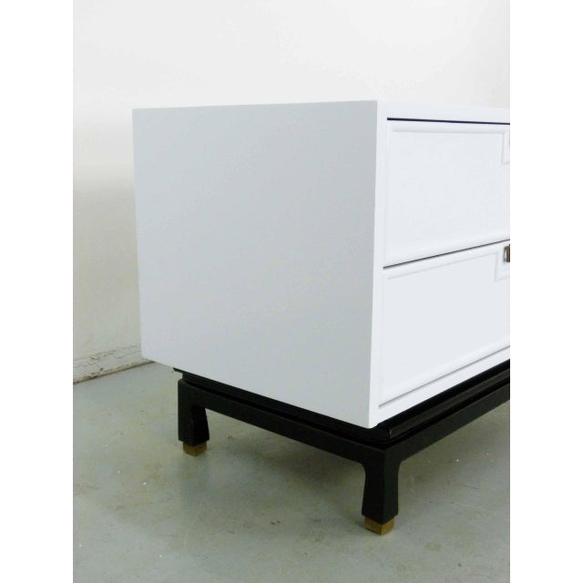 Asian Style White Chest by American Martinsville - Image 6 of 9