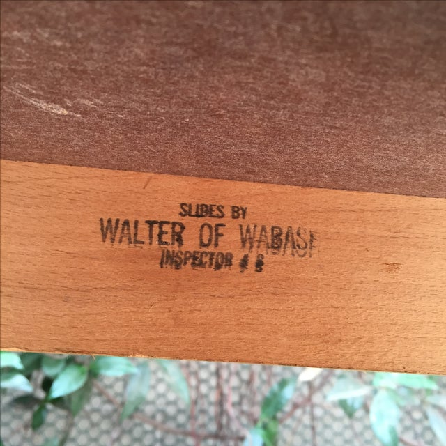 Mid-Century Modern Walter of Wabash Dining Set For Sale - Image 7 of 7