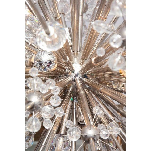 Custom Austrian Crystal Spiked Sputnik For Sale - Image 9 of 10