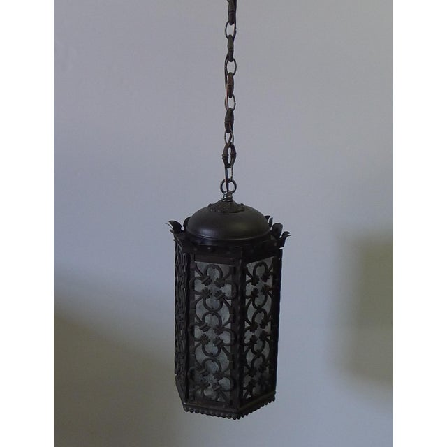 Gothic Style Lantern Pendant For Sale - Image 4 of 11
