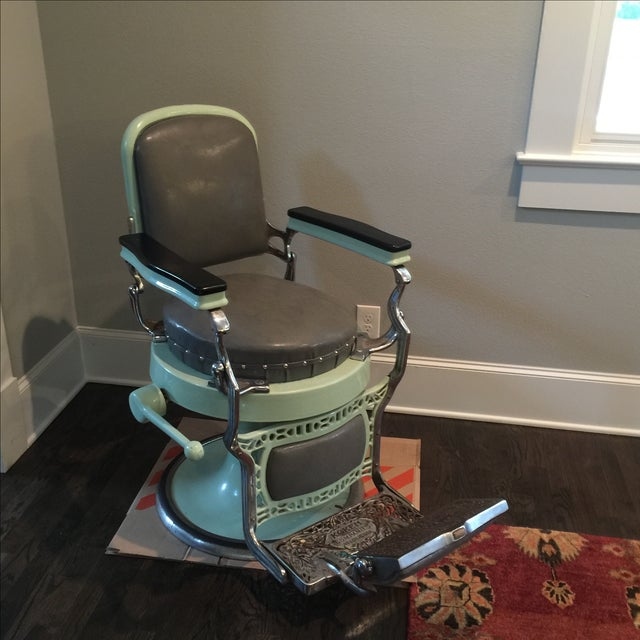 Antique Koken Barber Chair - Image 2 of 10