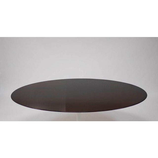 Mid-Century Modern Oval Tulip Dining Table by Eero Saarinen for Knoll For Sale - Image 3 of 5