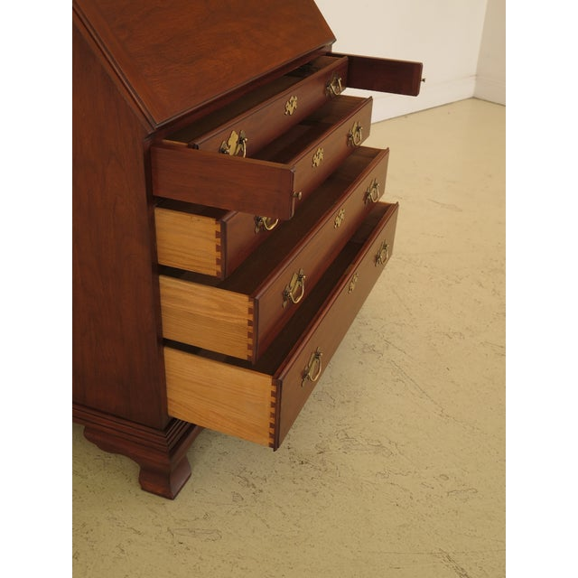 Henkel Harris Model #6001 Cherry Slant Front Desk For Sale In Philadelphia - Image 6 of 13