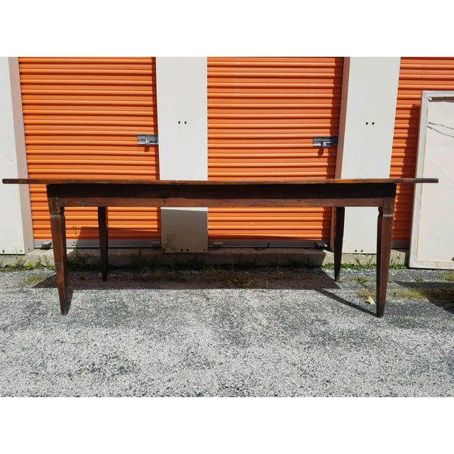 Antique French Farm Table - Image 2 of 8