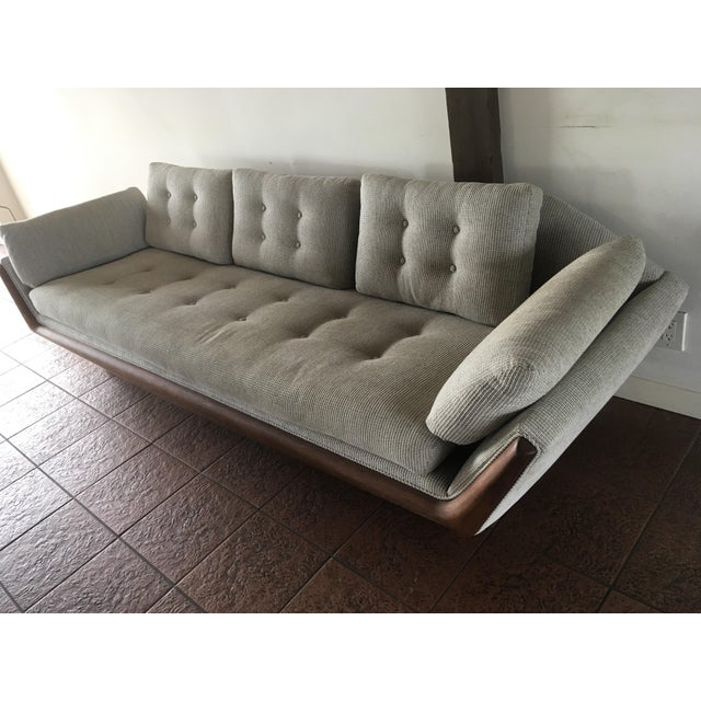 """""""Gondola"""" Sofa by Adrian Pearsall for Craft Associates For Sale - Image 9 of 11"""