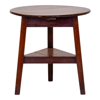 Antique English Mahogany Cricket or Pub Table For Sale
