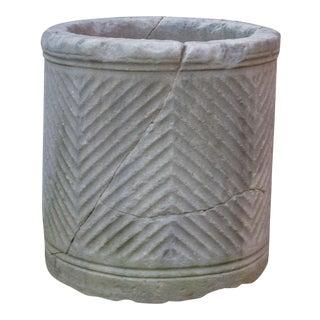 Unique Roman Marble Vessel