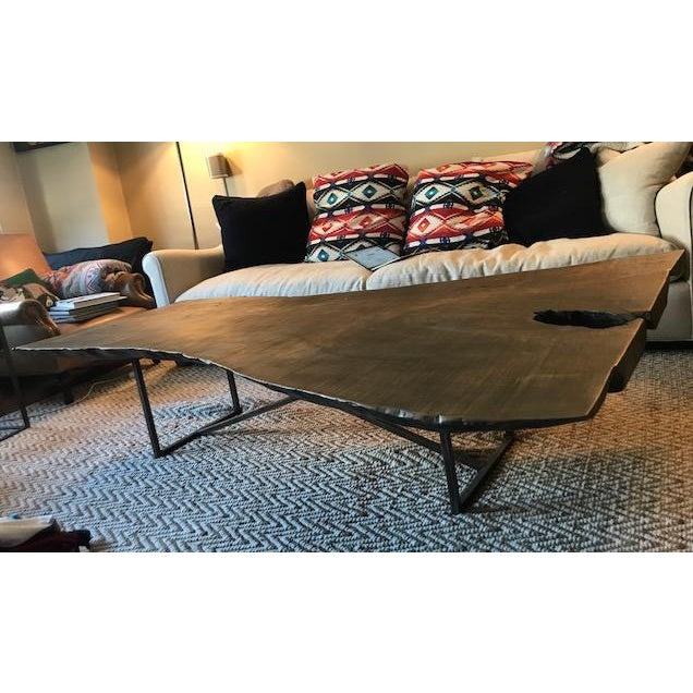 Brown ABC Home Reclaimed Wood Coffee Table For Sale - Image 8 of 8
