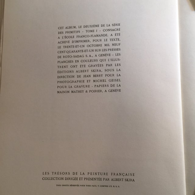 "1947 ""L'Ecole Franco-Flamande"" First Edition Folio by Germain Bazin For Sale - Image 11 of 11"
