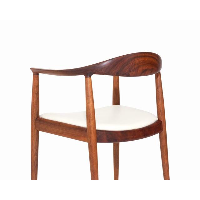 Vintage Danish Modern Teak Jh 503 Chair by Hans Wegner For Sale In Los Angeles - Image 6 of 8