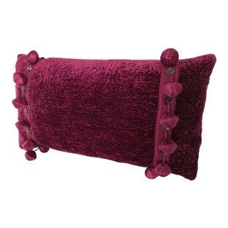 Osborne & Little Fuchsia New Custom Made Lumbar Pillow For Sale