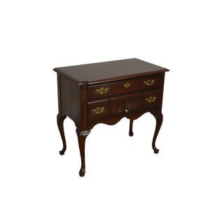 Thomasville Cherry Traditional Queen Anne Lowboy For Sale