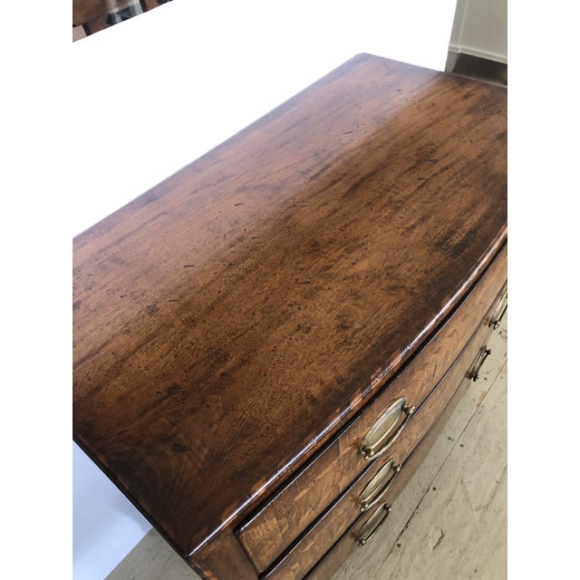 Burled Walnut Chest of Drawers With Beautiful Inlay For Sale In Philadelphia - Image 6 of 10