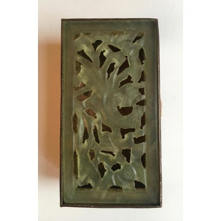 Chinese Brass and Carved Jade Box Preview