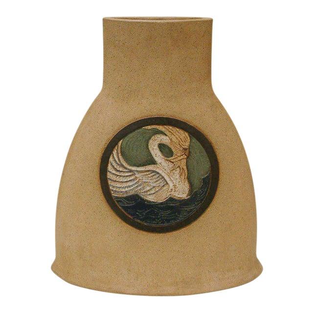 1978 Nittenegger Stoneware Vase For Sale