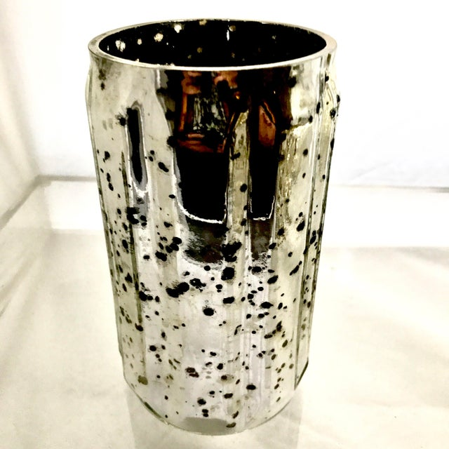 Mercury Glass Votives - Set of 5 For Sale In New York - Image 6 of 7