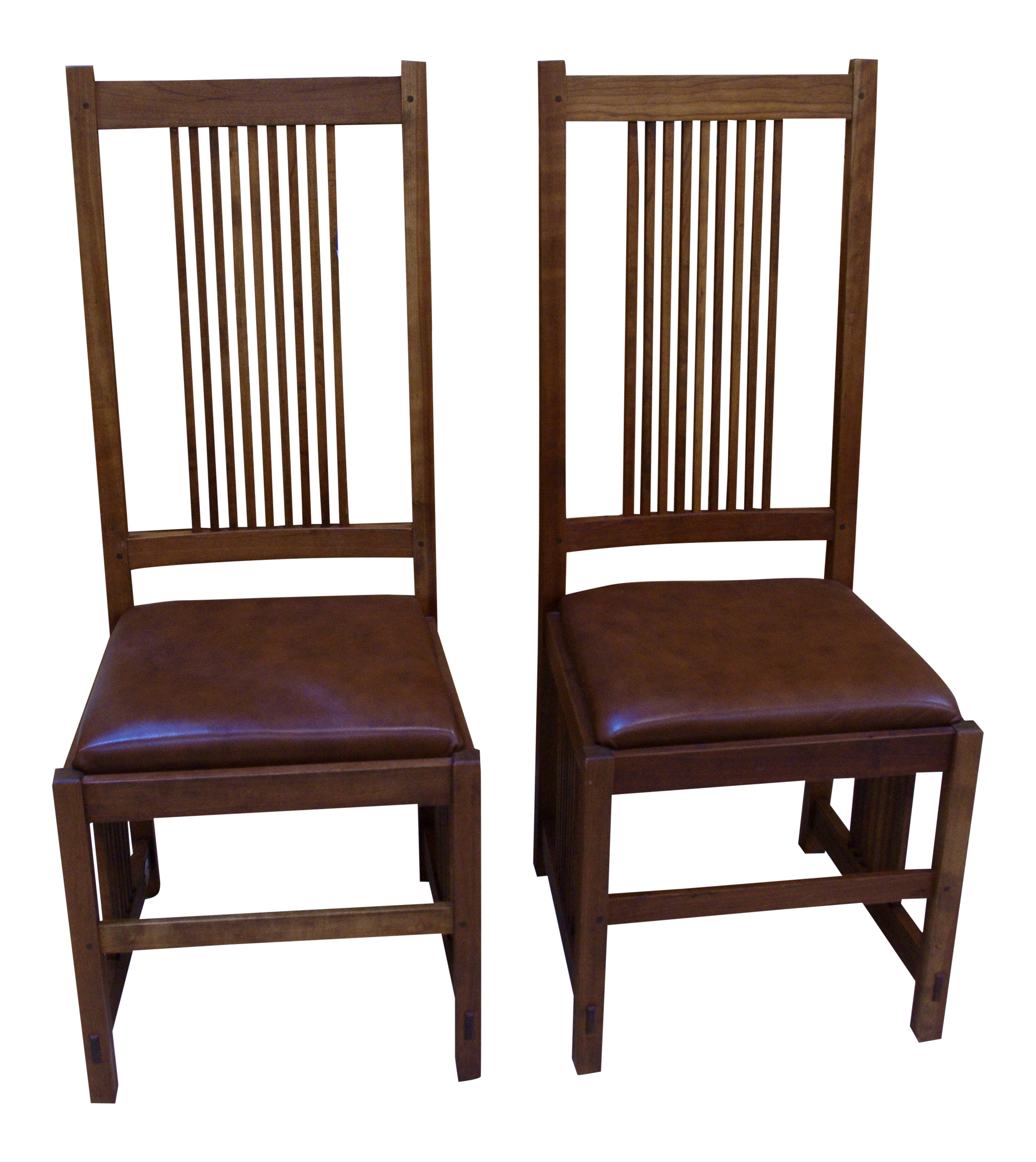 Stickley Mission Style Dining Chairs - A Pair  sc 1 st  Chairish & Stickley Mission Style Dining Chairs - A Pair | Chairish