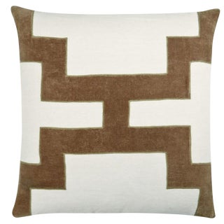 Piper Collection Velvet Applique Pillow