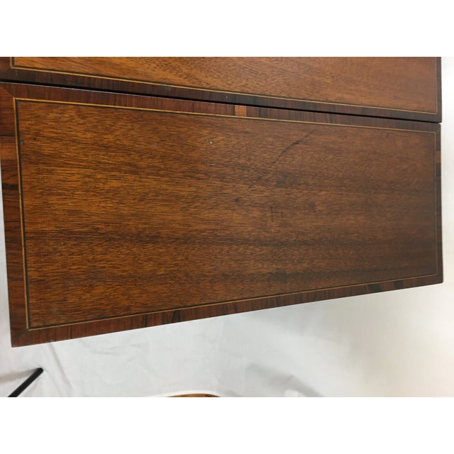 Early 20th Century Mahogany Vanity For Sale - Image 12 of 13