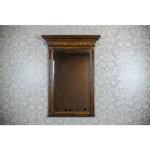 Brown 19th-Century Neo-Renaissance Pier Glass For Sale - Image 8 of 8