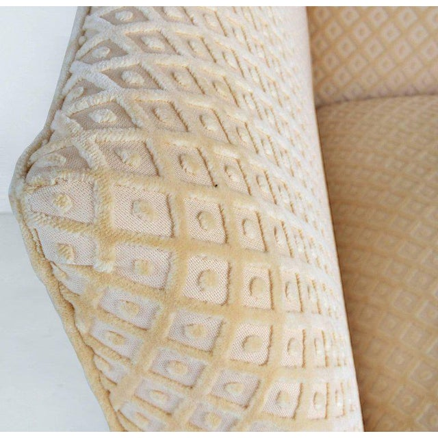 Sculptural Upholstered Club Chairs, Pair For Sale - Image 10 of 11