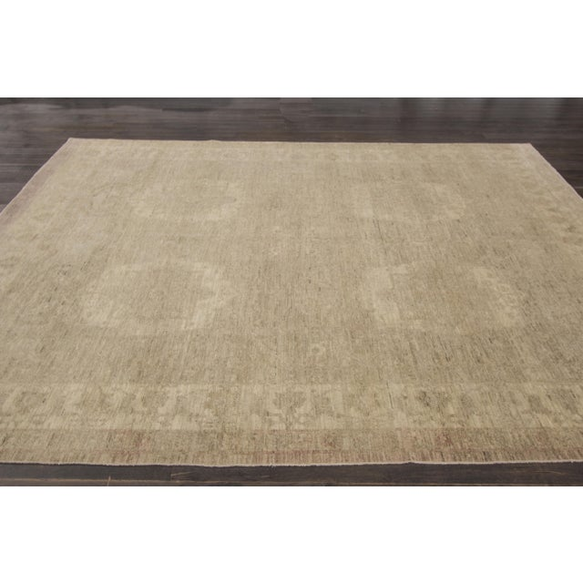 This beautiful hand-knotted design rug will make your floor look splendid. This collection is made in wool. Measures: 8' x...