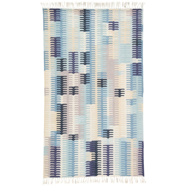 Jaipur Living Carver Indoor/ Outdoor Abstract Blue/ Gray Area Rug - 8' X 10' For Sale