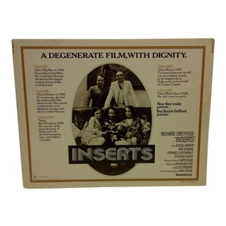 "Vintage Movie Poster ""Inserts"" 1976 For Sale"