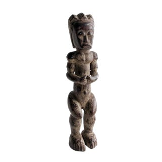 20th Century African Fang Sculpture of Male Figure For Sale