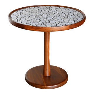 Gordon Martz Ceramic Tile-Top Occasional Table, Circa 1960 For Sale