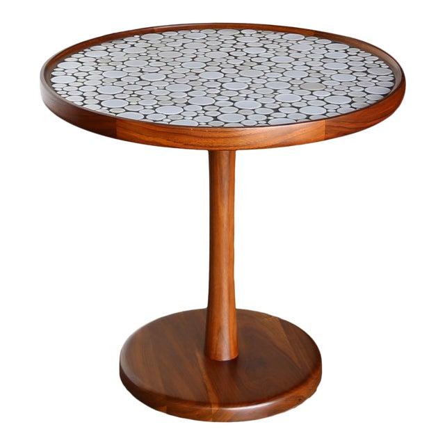 Gordon Martz Ceramic Tile-Top Occasional Table, Circa 1960 For Sale