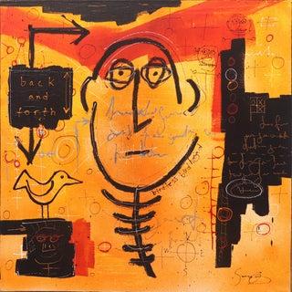 """Birdless Birdhead"" Original Artwork by Soren Grau For Sale"