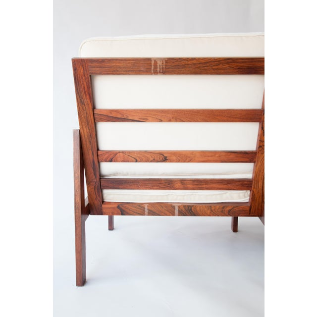 1970s 1970s Swedish Rosewood Sofa in the Style of Finn Juhl For Sale - Image 5 of 10