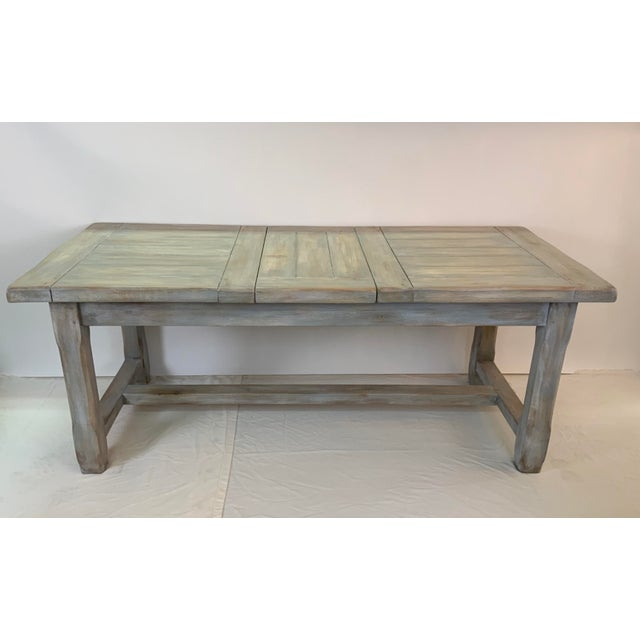 Christian Robert Farm Table With Two Leaves For Sale - Image 13 of 13