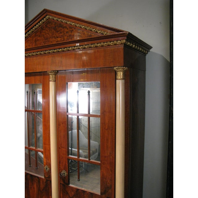 Antique 19th Century Biedermeier Cabinet With Fitted Interior For Sale In New York - Image 6 of 9
