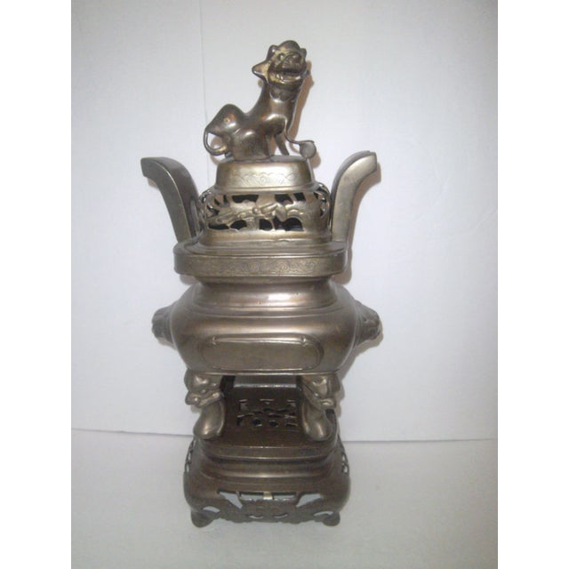 Large Oriental Incense Burner - Image 2 of 11