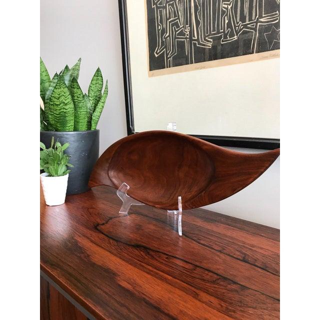 Mid-Century Modern E. Deak Signed Studio Bowl For Sale - Image 3 of 7