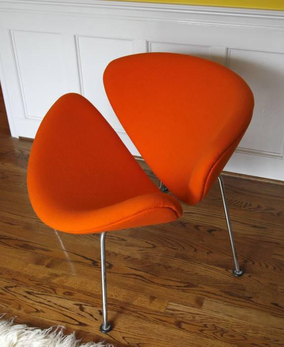 Pierre Paulin U0027Orange Sliceu0027 Chair   Image ...