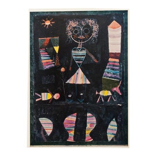"1958 Paul Klee ""Puppet Show"", First English Edition Lithograph For Sale"