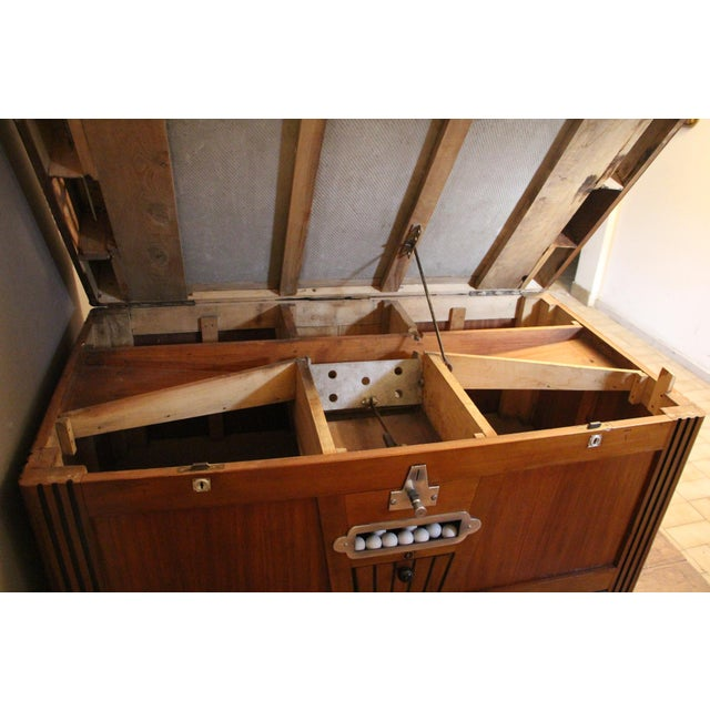 French Foosball Table For Sale - Image 9 of 11