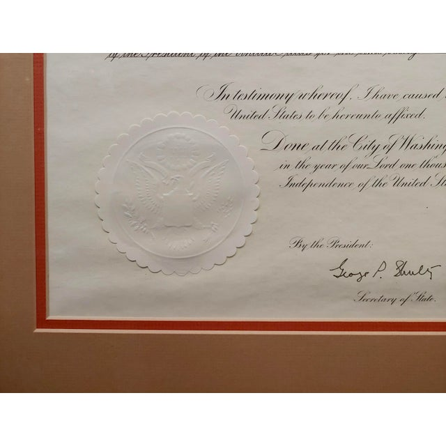 1980s Ronald Reagan Signed Presidential Appointment to Thomas Paine for Space Commission For Sale - Image 5 of 7