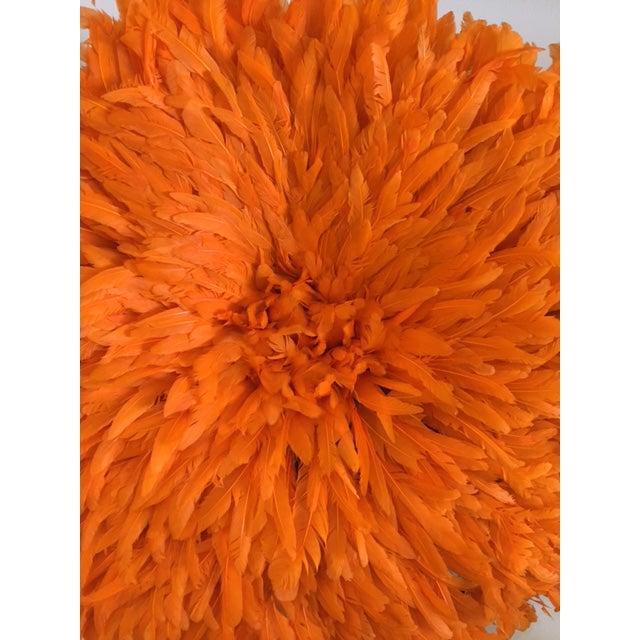 Boho Juju Orange Hat Wall Home Decor For Sale - Image 4 of 6