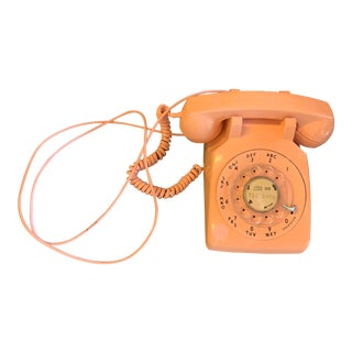 1960s Pink Rotary Phone For Sale