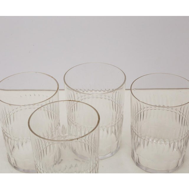 Mid 19th Century Antique Hand Cut Crystal Whiskey Tumbler Glasses - Set of 8 For Sale - Image 5 of 6