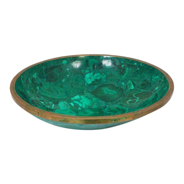 Large Malachite Bowl For Sale