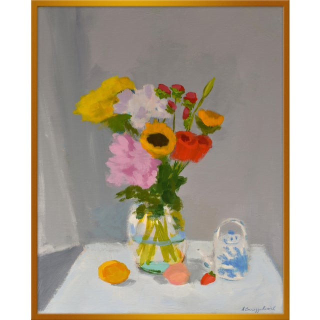 "Medium ""Morning Table"" Print by Anne Carrozza Remick, 30"" X 36"" For Sale"